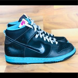 Nike dunk high athletic shoes